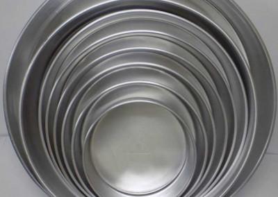Aluminium round pans
