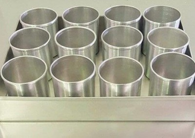 Aluminum Mini Cake Tin Round 10 x 8cm and 7 x 7.5cm