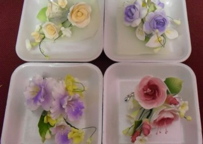 Imported Small Sugarpaste Flower Sprays