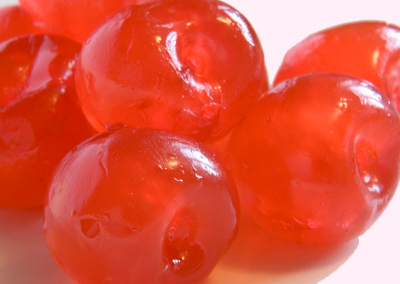 Red Glazed Cherries Whole