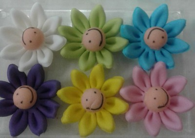 Smily faces Daisies