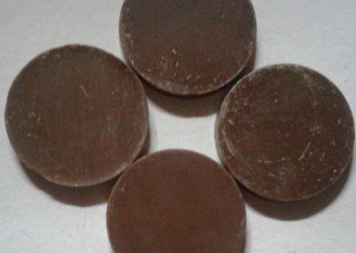 Flat Chocolate Discs