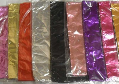 Different Chocolate Foil Paper