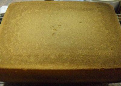 500gr Vanilla Sponge Mix Baked