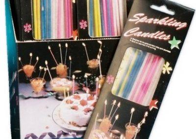 Birthday Candles Sparkling