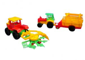 Plastic Farm Truck Set