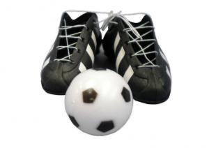 Plastic Soccor Boot and Ball Set Large