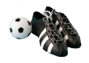 Plastic Soccor Boot and Ball Set Small