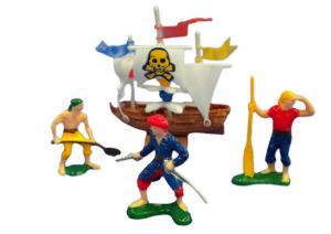Plastick Pirate Cak Decorating Set