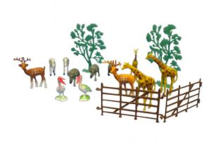 Plastix Zoo Cake Decorating Sets