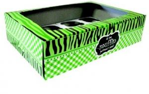 Green Cupcake Box with Inner 12's