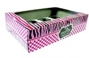 Pink Cupcake Box with Inner 12's